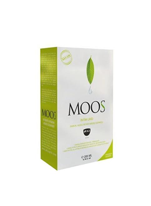 Moos Duş Jeli-Köpüğü Renksiz